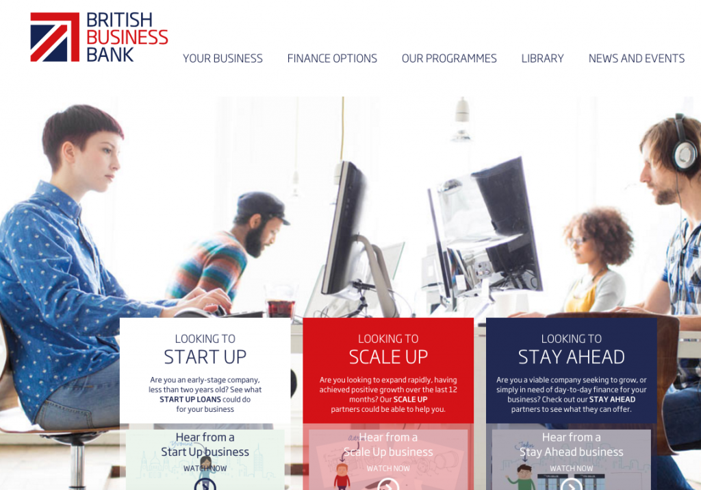 Venture capital funds British Business Bank