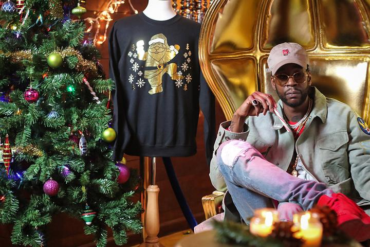 2 Chainz Christmas sweater