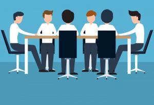 Company values meeting