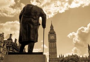 Winston Churchill efficient leader