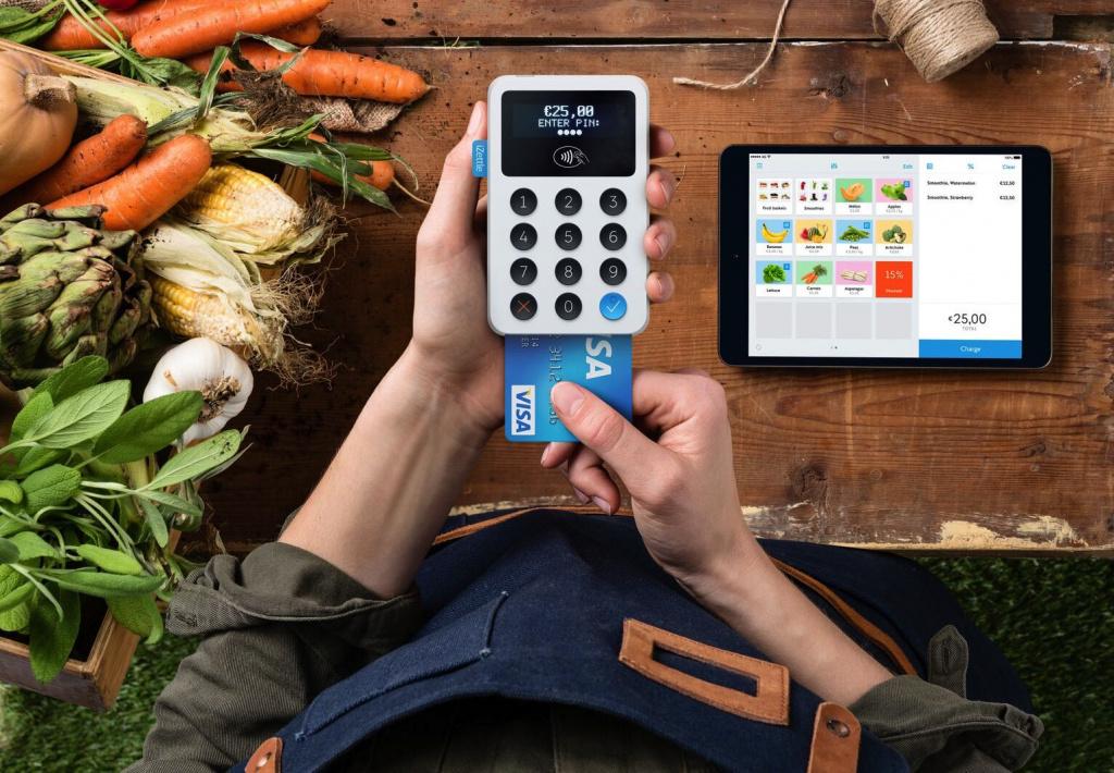 Mobile payments service iZettle