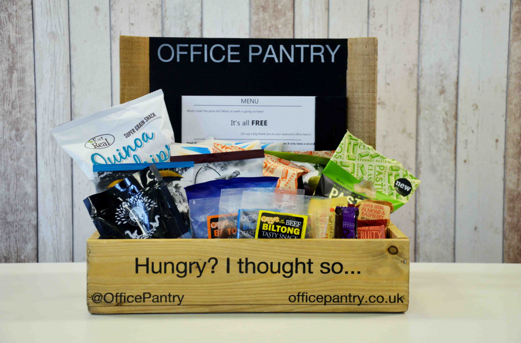 Office Pantry snacks - keeping hunger at bay