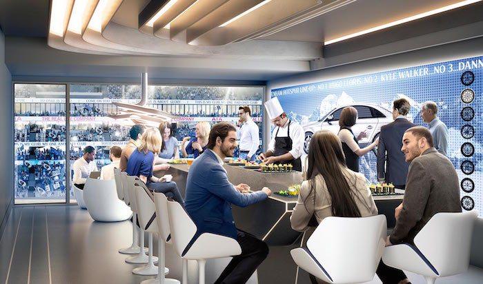 Super Suites at New Tottenham Hotspur stadium