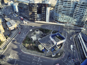 Silicon Roundabout in Shoreditch, where LoopUp is based
