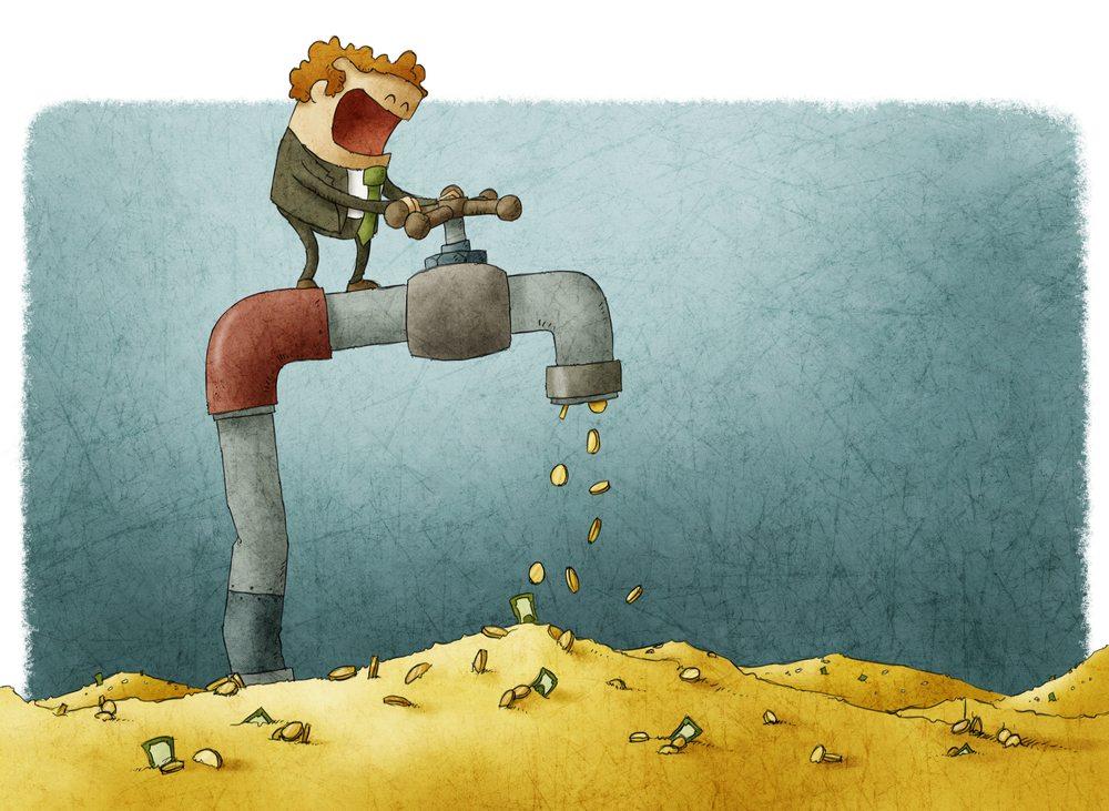 Controlling cash flow