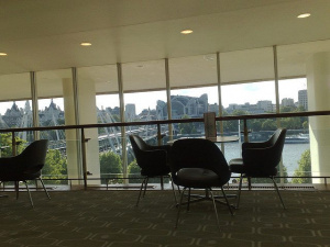 One of the many areas you can claim at the Royal Festival Hall