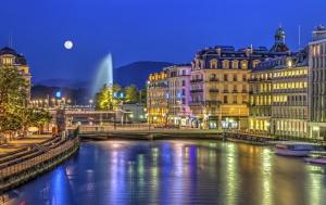 Expensive business travel Geneva