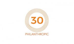 Philanthropic 30 increase profits