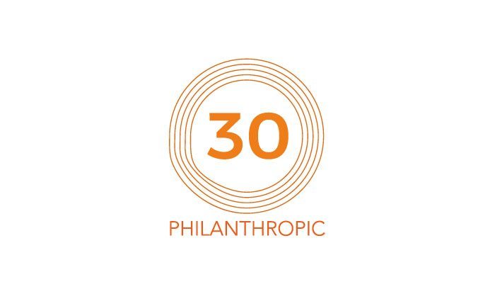 Philanthropic 30 increase profits