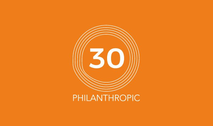 Philanthropic 30 Business value