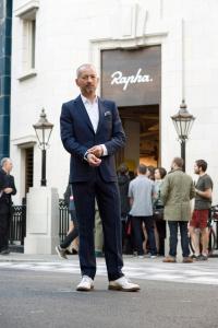 Rapha founder Simon Mottram