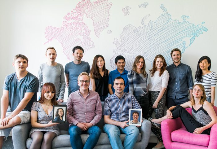 Tandem language app team
