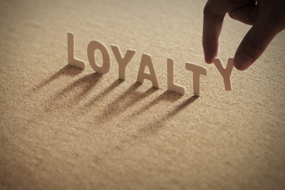 Earning customer loyalty