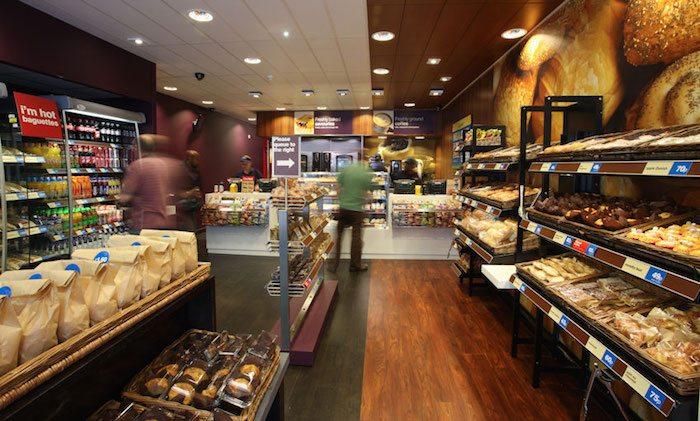 Inside Greggs Store
