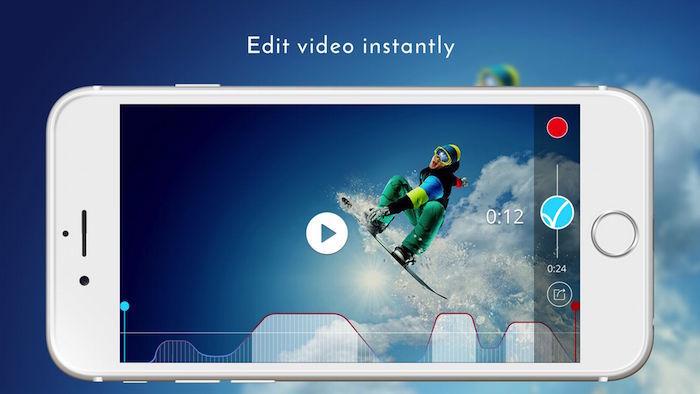 Velapp Live video editing 3