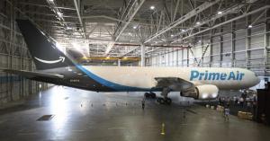 Amazon has its own plane – called Amazon One