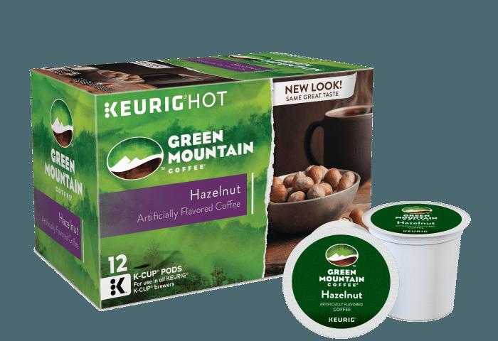 Keurig Green Mountain Hazelnut