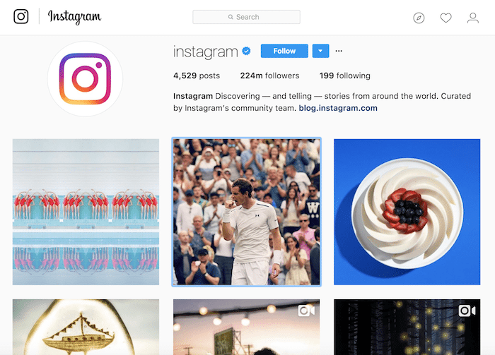 Company name disputes Instagram