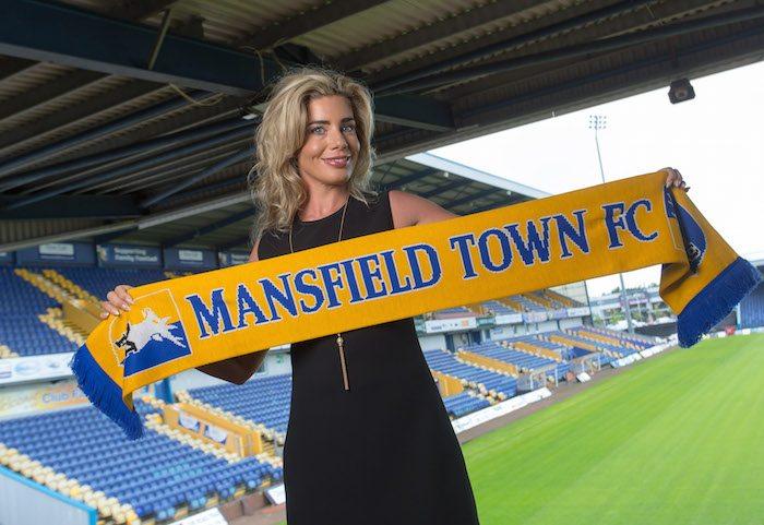 Mansfield Town CEO Carolyn Radford