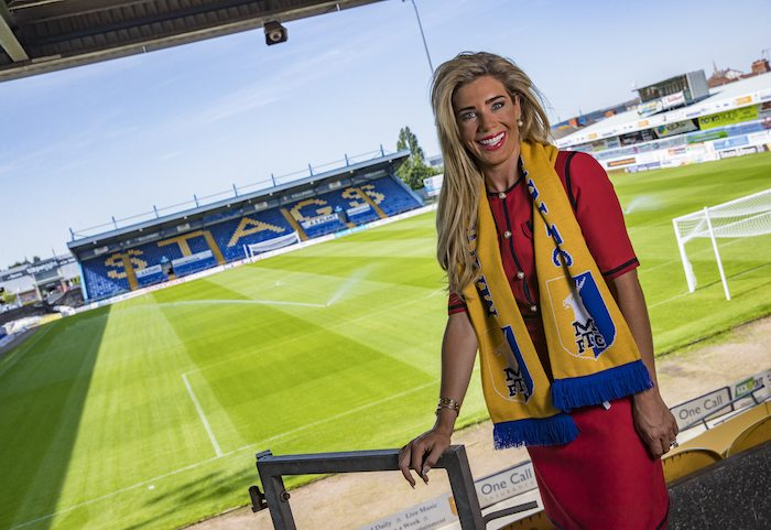 "Strength found by Mansfield Town CEO to prove she's no ""publicity stunt"""
