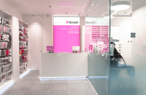 The iSmash store in Bluewater