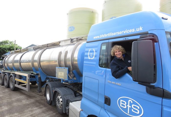 BFS Fertiliser Services owner Rosalind Platt