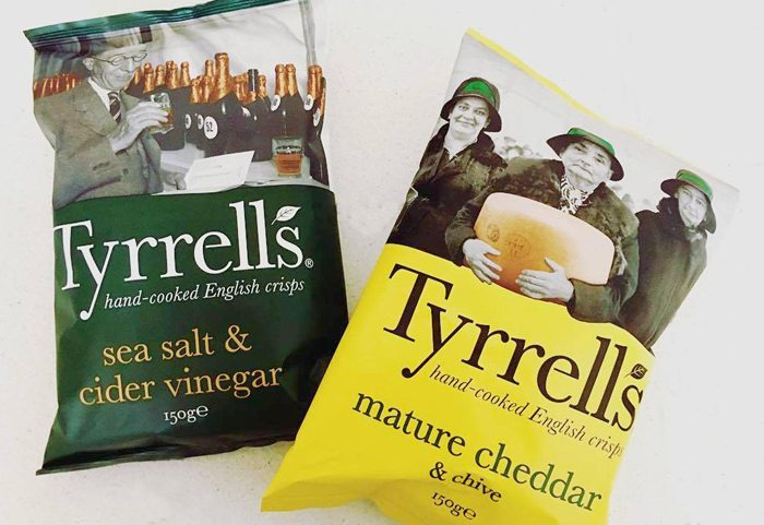 Tyrrells TV advertising