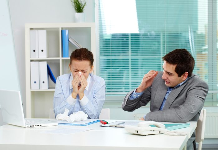 Presenteeism: Is your office a breeding ground for germs?