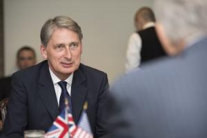 The chancellor Philip Hammond