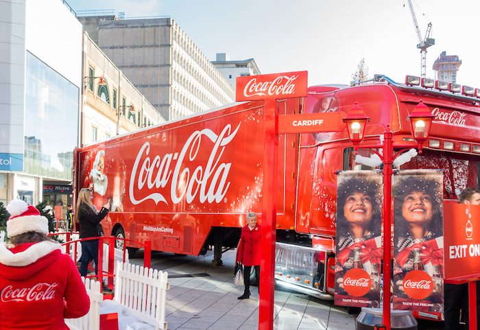 Seasonal campaigns Coca-Cola Coke Christmas truck