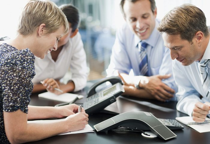 Younger employees are more likely to be at ease with conference calls