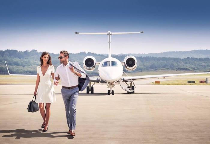 Luxury jet service Victor
