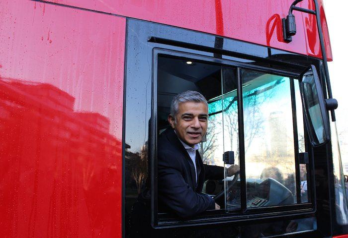 Sadiq Khan London is Open