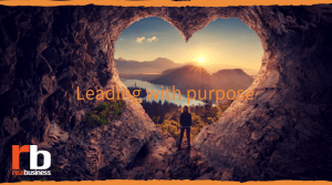 Leading a purpose-driven companies