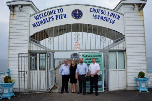 Mumbles Pier: An example of how to save the UK's Victorian seaside piers with a fresh injection of finance and innovative ways to attract new visitors.