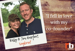 Vegbred co-founders Kelly and Jon Barfoot