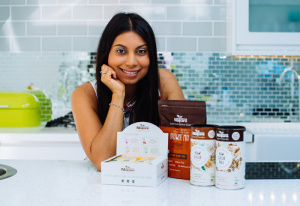 Julianne Ponan and her nascent superfood business Creative Nature