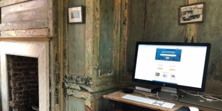 Here's what SpareRoom's Rupert Hunt's work desk looks like