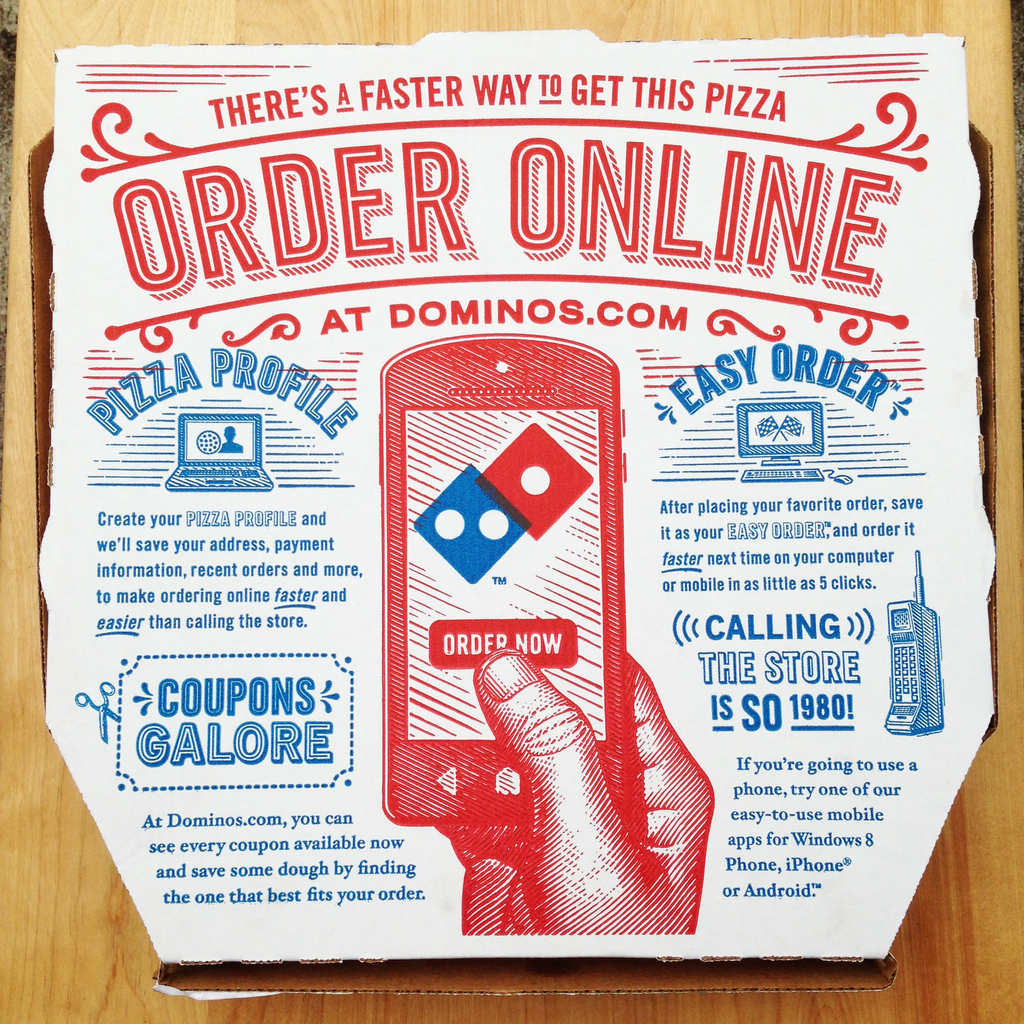 Domino's UX under fire