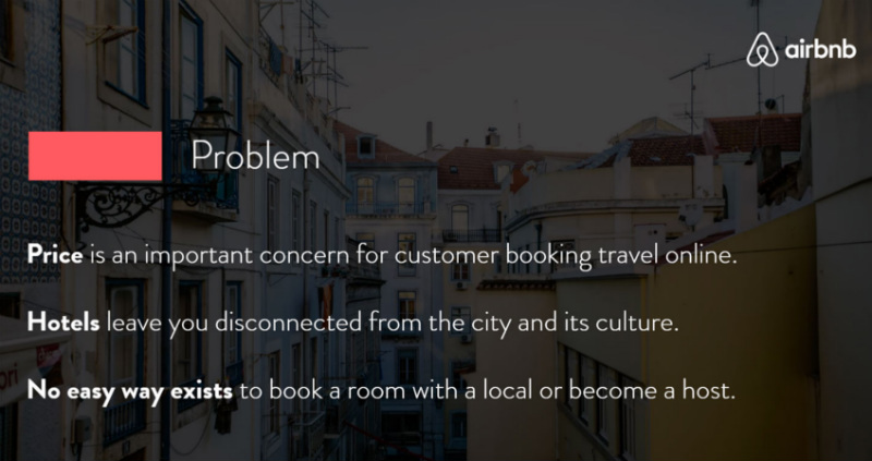 This was airbnb's elevator pitch