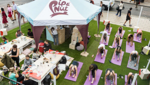 Pip and Nut's 'Pipnics' are a great example of experiential marketing done well