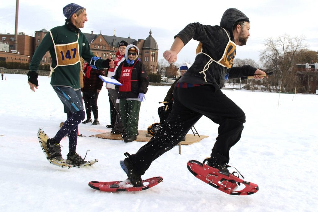 Winter fun snow days: Great for team building