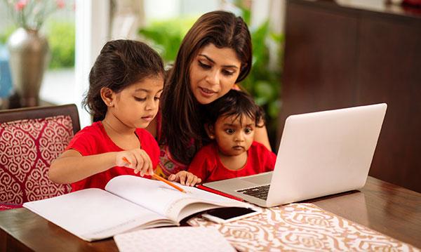 Balancing motherhood and business leadership during lockdown