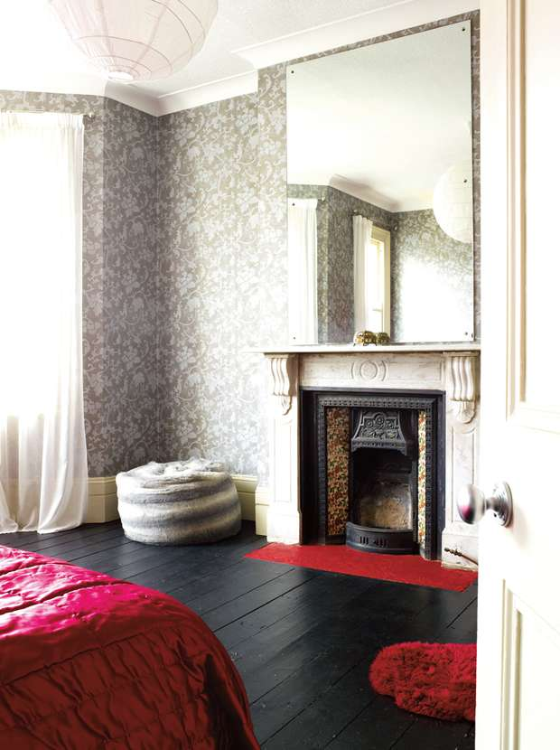 A renovated victorian terraced home real homes for Bedroom ideas victorian terrace