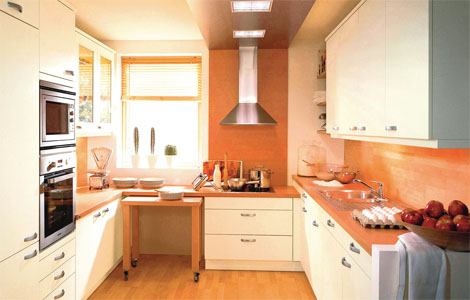 Small kitchens solutions real homes for Kitchen ideas victorian terrace