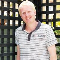 Landscape gardener Paul Baker