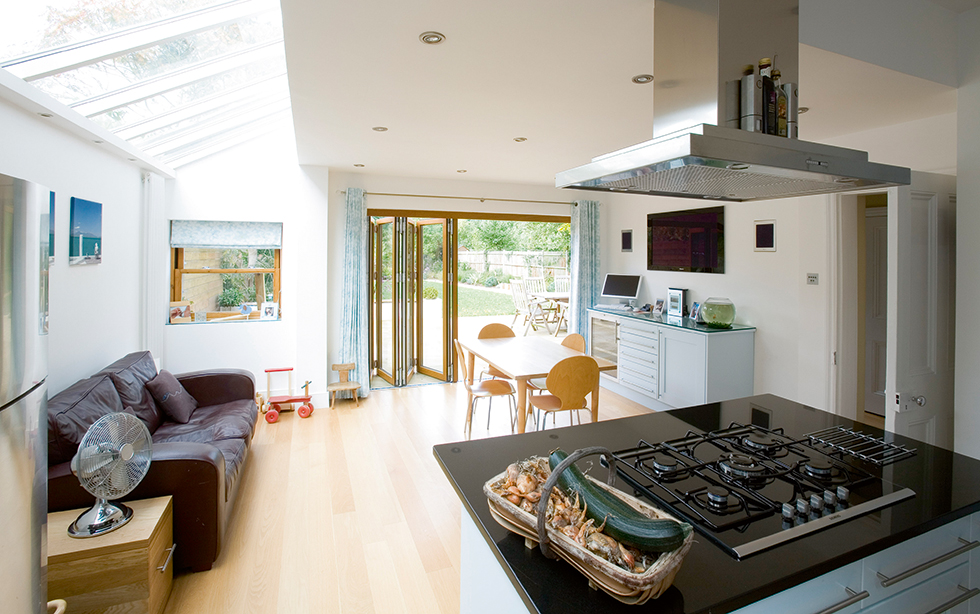 Kitchen extensions case studies real homes for Terrace kitchen extension