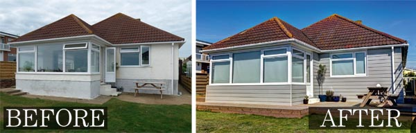a 1960s coastal home before and after