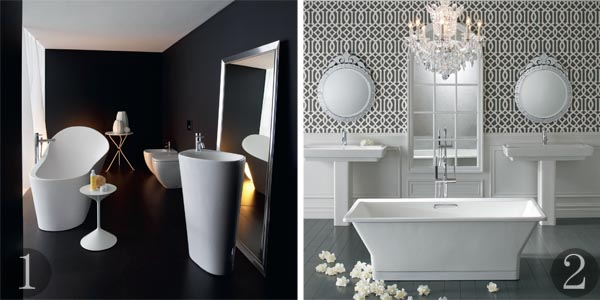 contemporary white bathroom design contemporary bathroom items mixed with vintage finds