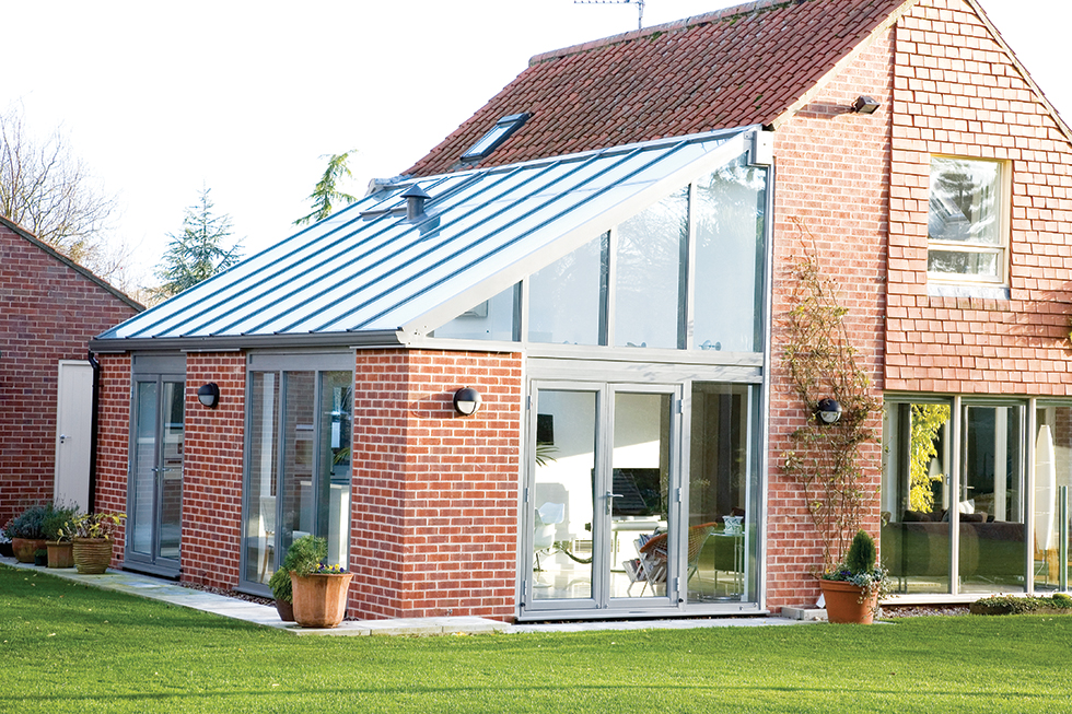Case studies adding a small extension real homes for Adding a conservatory